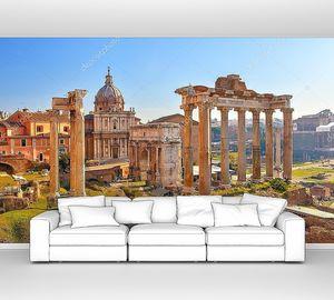 Развалины старого Рима