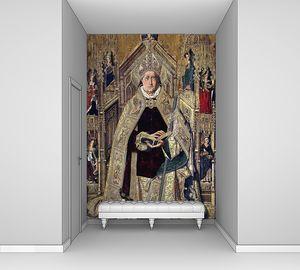 Бермехо Бартоломе. Святой Доминик де Силос на епископском престоле