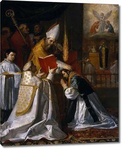 Кардучо Висенте. Рукоположение и первая месса св. Жана де Мата
