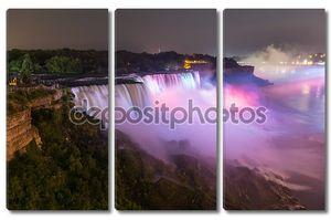Niagara Falls by Night with illumination