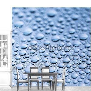 Капли воды, которую бисером nano эффект Тау lotuseffekt синий уплотнитель отталкивает дождь дефлектор