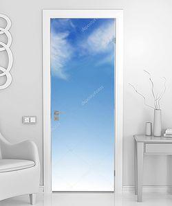 Небесный фон с облачками