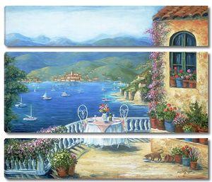 Терасса с видом на залив