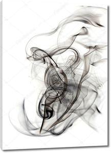 Красивая абстракция дыма