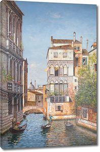 Солнечная Венеция ранним утром