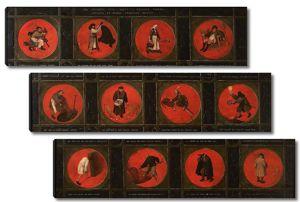 Брейгель Двенадцать фламандских пословиц
