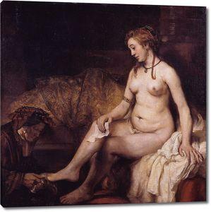 Рембрандт. Купание Вирсавии