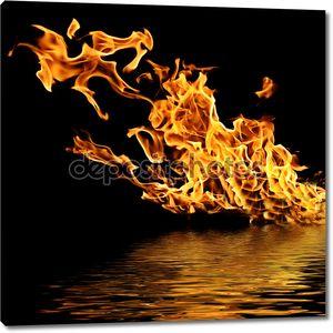 Пожар на воде.