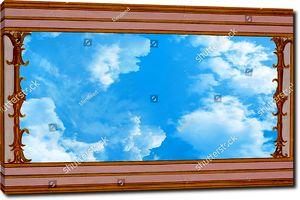 Небо и классический орнамент