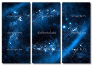 Звездный фон неба