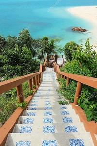 Stair down to the beach