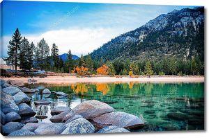 Озеро с пресной водой