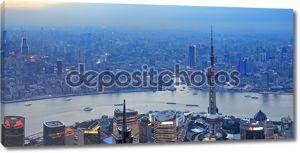 Шанхай воздушные Панорама