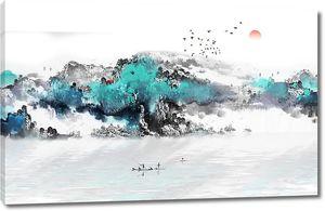 Гористый берег