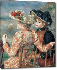 Пьер Огюст Ренуар. Две женщины