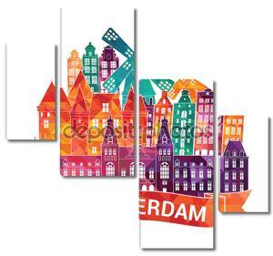 Горизонты города Амстердам