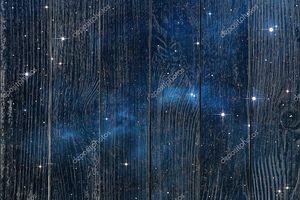 Синий фон пространства туманность