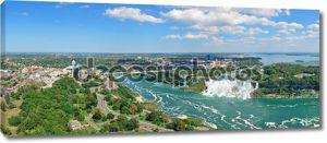 Пейзаж Ниагарского водопада