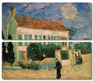 Ван Гог Винсент. Белый дом ночью
