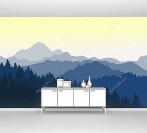 Прекрасный рассвет в Голубых горах