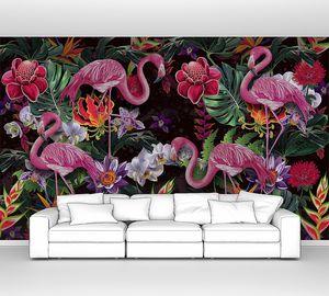 Диковинные фламинго