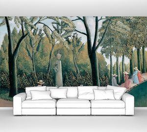 Руссо Анри.  Люксембургский сад. Памятник Шопену