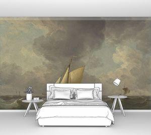 Чарльз Брукинг. Лодка в сильный ветер