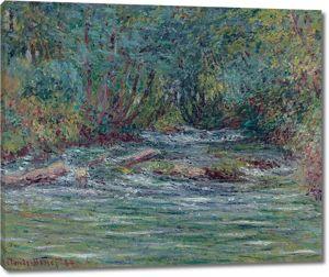 Моне Клод. Река Эпт в Живерни, лето, 1884