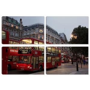 вечером Лондон, Великобритания