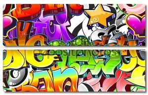 Городской граффити фон