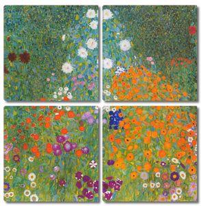 Климт Густав. Цветочный сад