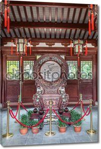 Храм Конфуция Мяо Вэнь Шанхай Китай