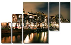 Амстердамбелые коробки для пиццы и белый контейнеров для кола с трубочка