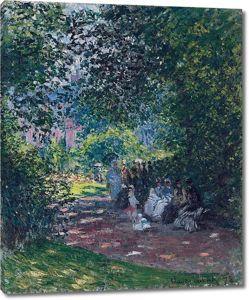 Моне Клод. Парк Монсо 03, 1878
