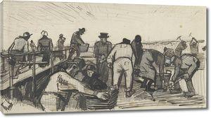 Ван Гог. Экскаваторы торфяные в дюнах