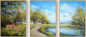 Пейзажный триптих