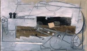 Пикассо Пабло. Кларнет и скрипка