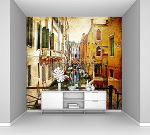 Восхитительная Венеция - произведениями искусства в стиле живописи