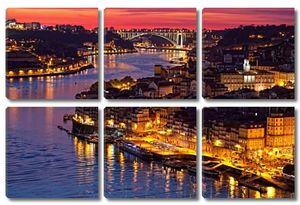 Холм с Старый город Порто