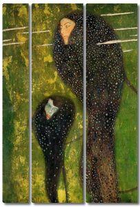 Густав Климт. Ундины, серебряные рыбы