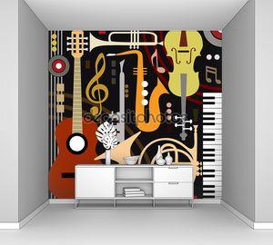 абстрактные музыкальные инструменты