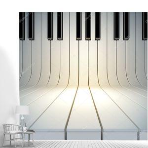 Пустой поверхности от клавиши пианино