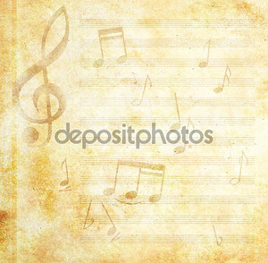 Музыкальный гранж-фон
