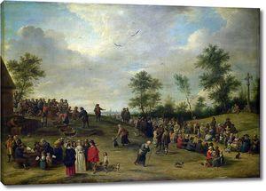 Тенрис Давид (Младший). Сельский праздник близ Антверпена