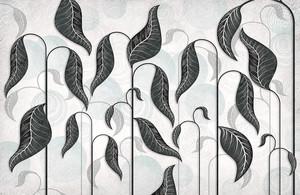 Folium-стебли на абстрактном фоне