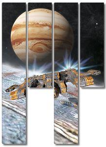 база Луна Юпитера Европа