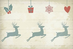 Праздничный фон,  Рождество, подарки