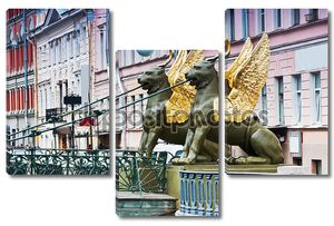Грифон скульптура Банковский мост