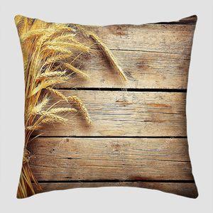 Колосья пшеницы на досках