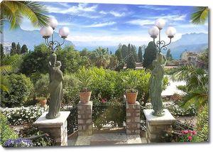 Средиземноморских lendskeyp. Италия, Сицилия
